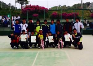 テニス部写真