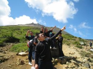 登山Pの生徒